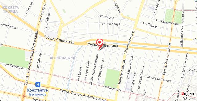 Mall of Sofia Apartment на карте