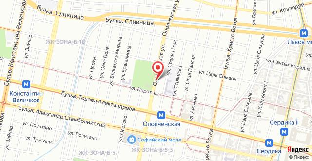Апартаменты Огнян на карте