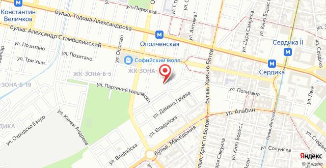 Flora Apartment Centrum на карте