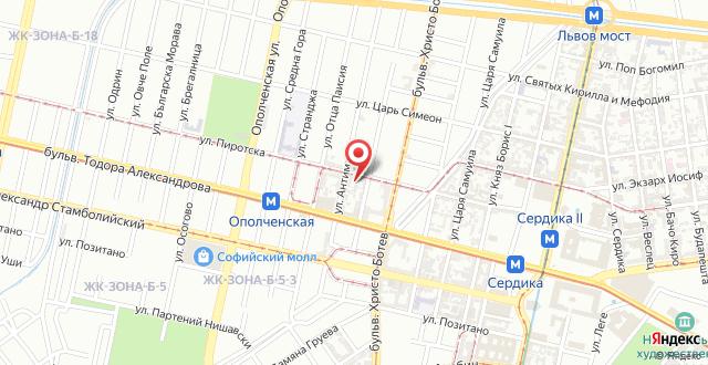 Apartment Victoria на карте