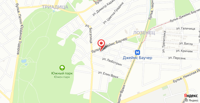 Sofia Apartments на карте
