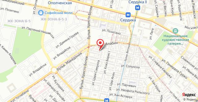 Vitosha Apartments на карте