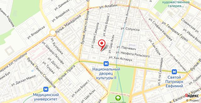 Отель Святой Георгий на карте