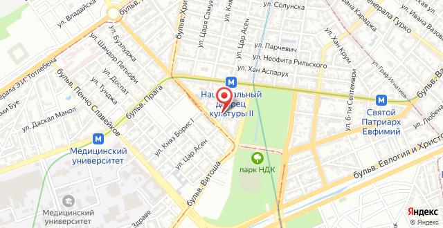 Guesthouse Tzar Asen на карте
