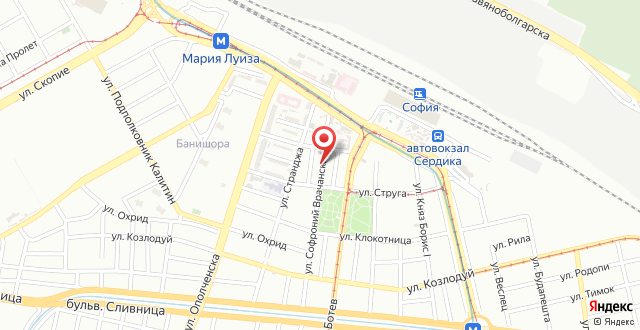 Alegra Hostel на карте