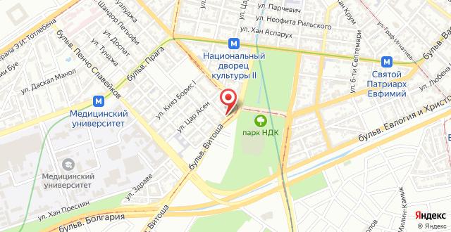Vitosha 104 Apartment на карте