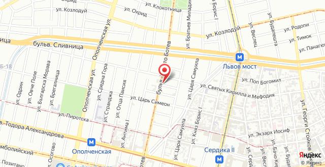 Premier Suite Sofia на карте