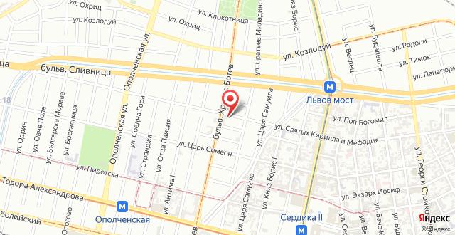 Sofia Art Gallery Vacation Apartments на карте