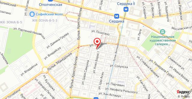 Baratero City Apartment на карте