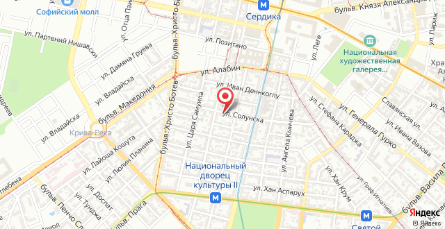 Solunska Apartment на карте