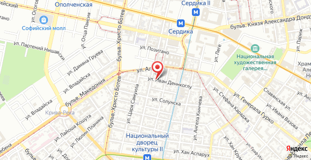 The Central Place на карте