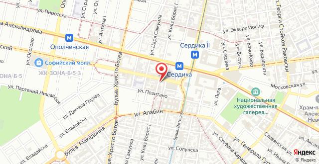 Orange Flower Apartments 1 на карте