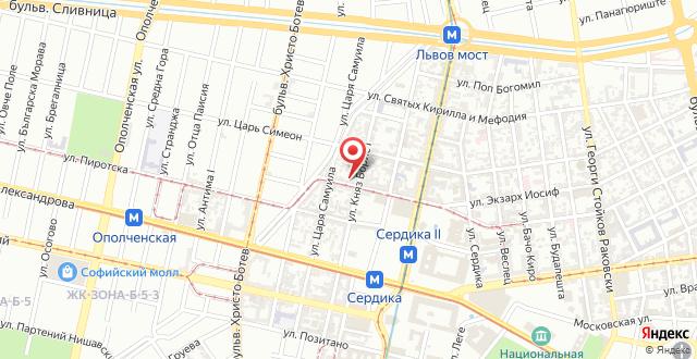 blueWave.place Sofia на карте