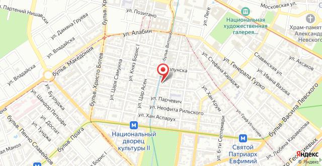 Italian House Sofia на карте