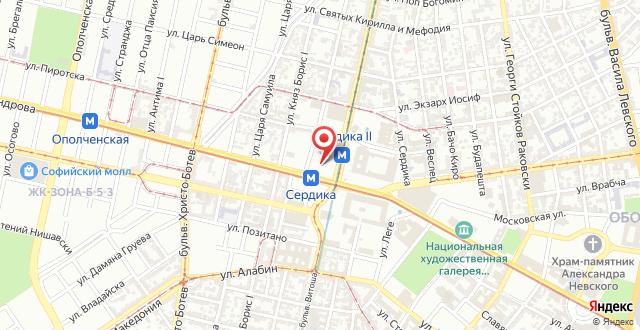 Santa Sofia на карте