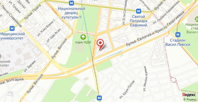 Bobi's National palace of culture flat на карте