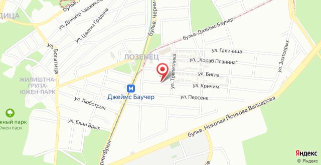 Apartment Krichim на карте