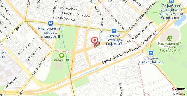 Sofia Central на карте