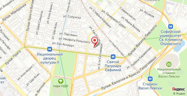 Отель ДИТЕР на карте