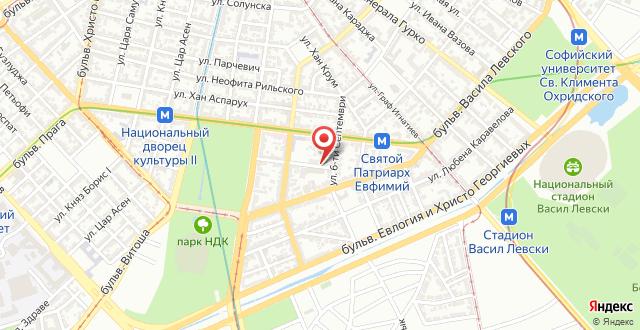Apartment Sofia Noshtuvki на карте