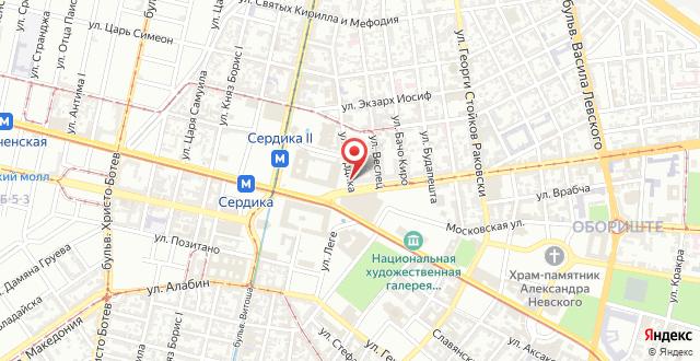 Арте Отель на карте