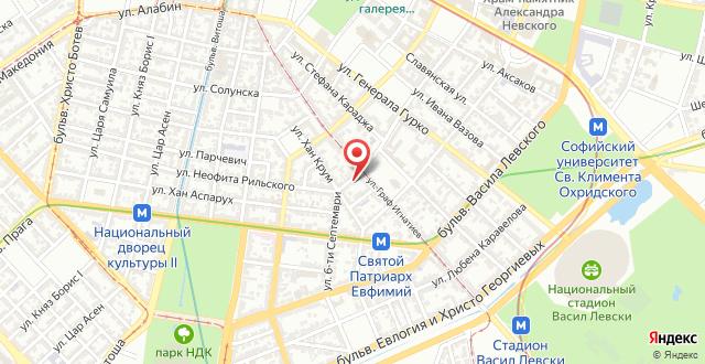 Apartment September на карте