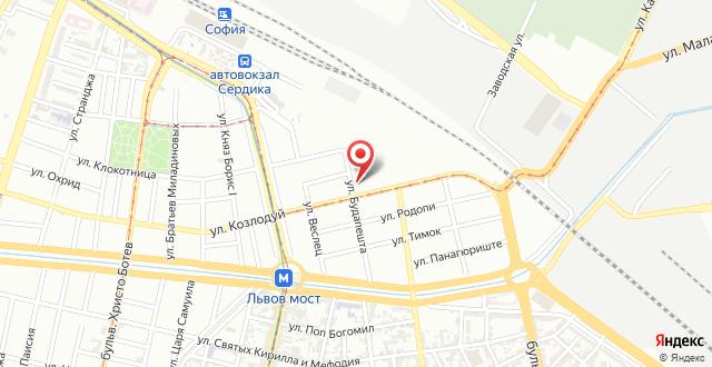 Budapest 92 Apartment на карте