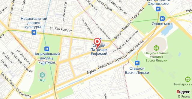 Levski Apartment на карте