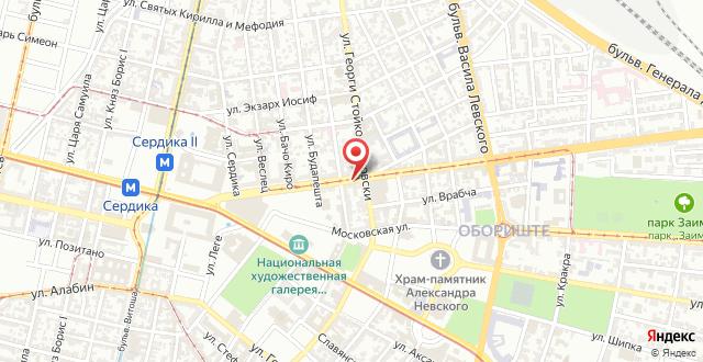 Top Center Luxury Apartment на карте
