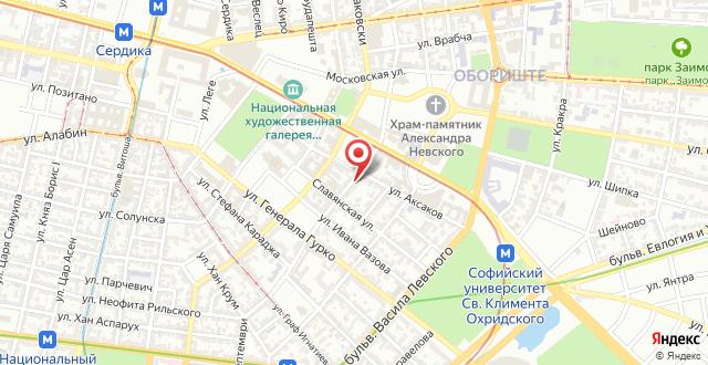 Central Apartment на карте
