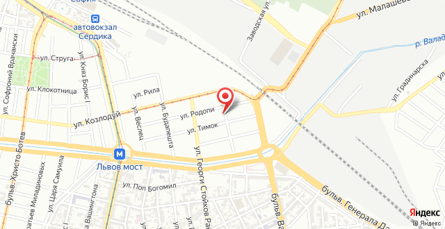 Dunav Apartment на карте