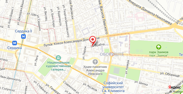 Nevski Apartment на карте
