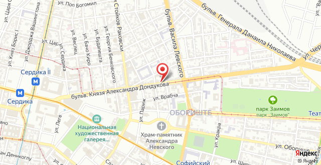 Penthouse Dondukov на карте