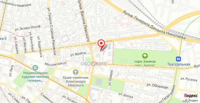 Grand Suite Sofia на карте