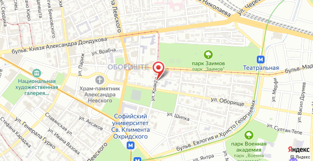 Embassy Apartment на карте