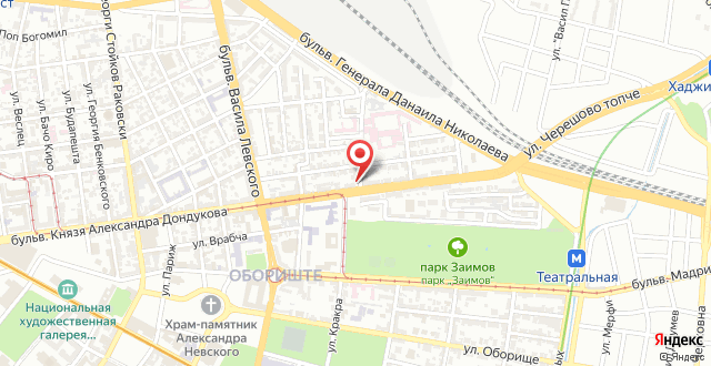 Sofia Style Apartments на карте