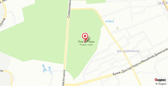 Villa Victoria-Loven Park Sofia на карте