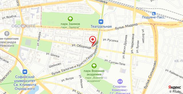 Sofia Residence Boutique Hotel на карте
