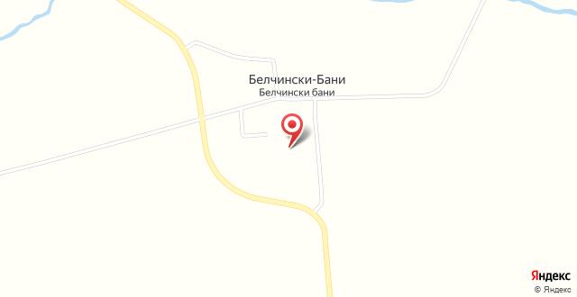 Spa Hotel Belchin Garden на карте