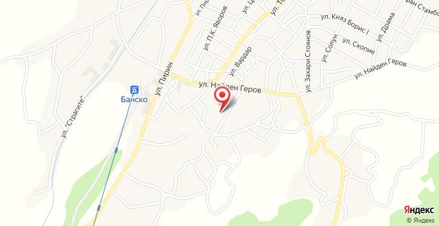Hotel Perun & Platinum Casino Bansko на карте