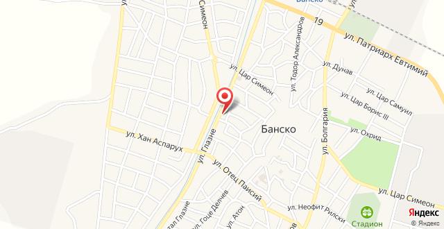 Hotel Bansko на карте