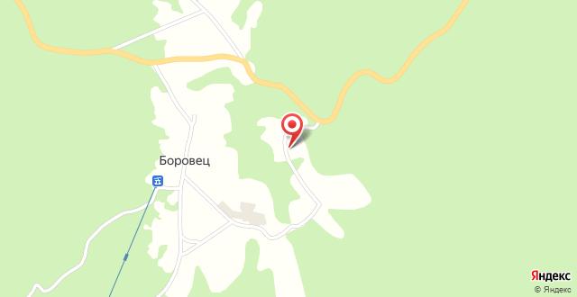 Saint George Borovets Hotel на карте