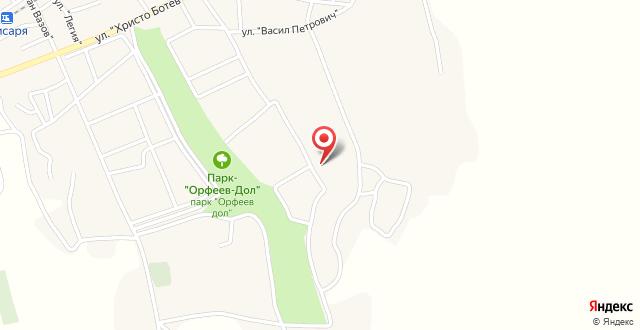 Hissar Spa Hotel на карте