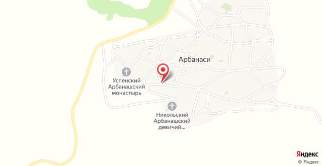 Отель Елена на карте