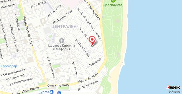 Apartcomplex Sveti Vlas Victorio 2 на карте