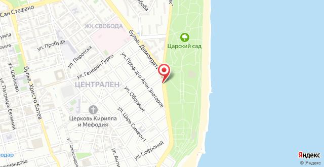 Hotel Gran Via на карте