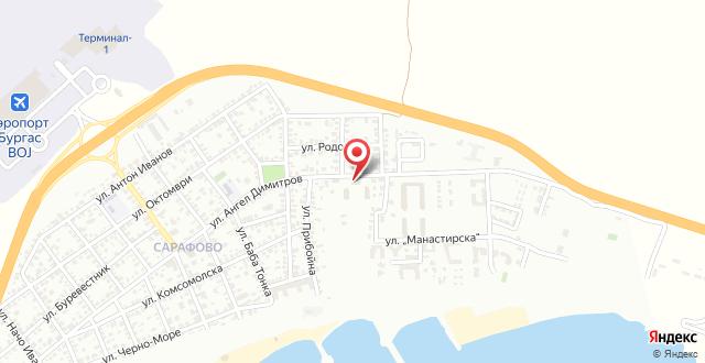 Sarafovo Residence на карте