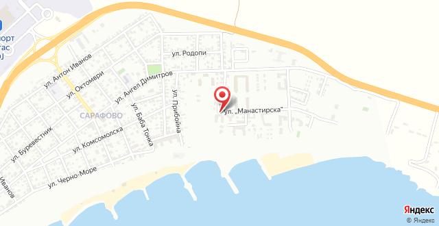 Bulgarienhus Nev Villa на карте