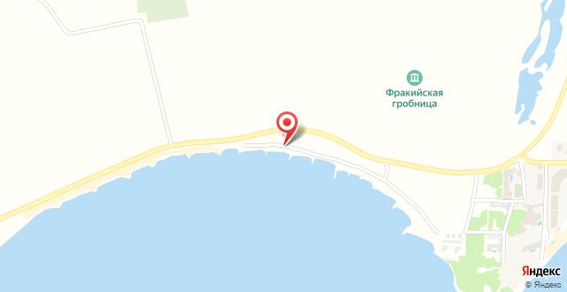 WS beach на карте