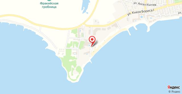 Balneo Resort Via Pontica на карте